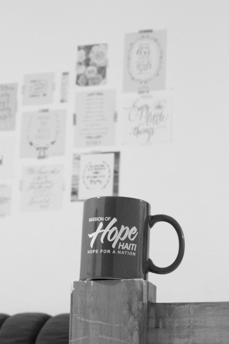 Coffee Mug B&W